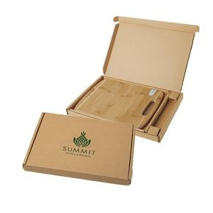 Bamboo Sharpen-It™ Cutting Board w/Gift Box