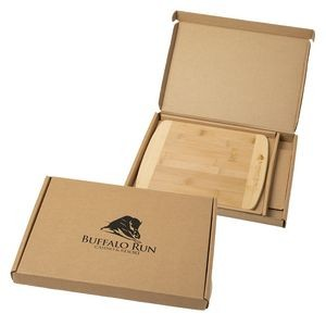Bamboo Cutting Board w/Gift Box